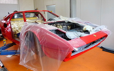 Ferrari 308 GTS Bj 79 Vollrestauration